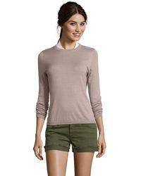 525 America - Beechwood Pima Cotton Crewneck Sweater - Lyst