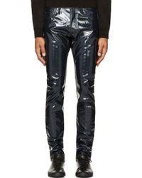 Marc By Marc Jacobs Deep Indigo Pvc Jeans - Lyst