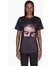 En Noir - Black Jesus Head and Hands T_shirt - Lyst