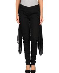Gareth Pugh Denim Trousers - Lyst