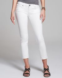 Paige Jeans - Kylie Crop In Optic White - Lyst