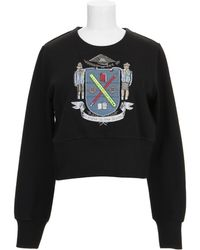 Olympia Le-Tan Sweatshirt black - Lyst