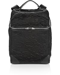 Alexander Wang | black Small Wallie Backpack In Embossed Black Neoprene | Lyst