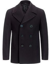 Joseph Melton Wool Balfour Coat - Lyst