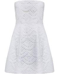 Alice + Olivia Salma Bell Dress - Lyst