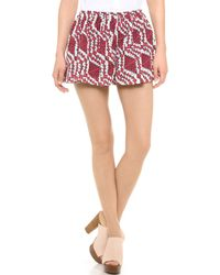 Thakoon Addition - Printed Full Shorts - Lyst