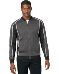 Calvin Klein Ck Premium Colorblocked Zipup Jacket - Lyst