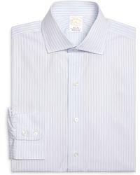 Brooks Brothers Golden Fleece® Regent Fit Alternating Stripe Dress Shirt - Lyst