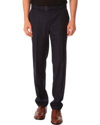 The Kooples Navy Slim-Fit Suit Trousers - Lyst