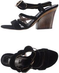Vic Matie' Sandals black - Lyst