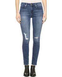 Genetic Denim Slim High Rise Jeans - Venue - Lyst