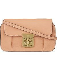 Chloé Elsie Mini Over The Shoulder Handbag - For Women - Lyst