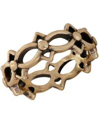Lucky Brand - Heritage Holiday Openwork Ring - Lyst