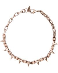 Joomi Lim | Rose Gold-Plated Double Row Spike Choker | Lyst