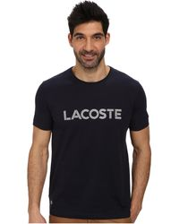 Lacoste Graphic T-shirt - Lyst