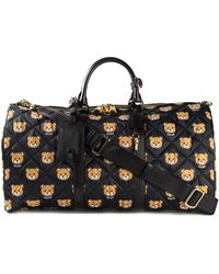 Moschino Quilted Bear Holdall - Lyst
