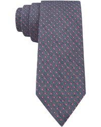 Calvin Klein Coral Dot Skinny Tie - Lyst