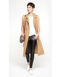Band of Outsiders - Sleeveless Trench - Lyst