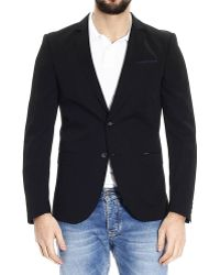 Diesel Jackets 2 Buttons Wool Stretch - Lyst