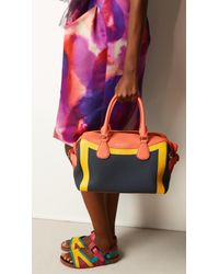 Burberry The Bee in Handpainted Leather - Lyst