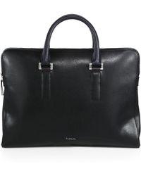 Paul Smith Portfolio Briefcase black - Lyst
