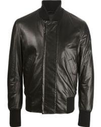 402251200 Leather Jacket - Black