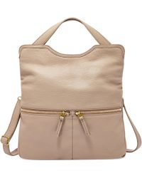 Fossil Erin Leather Tote - Lyst