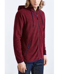 BDG - Polar Fleece Zip Hooded Sweatshirt - Lyst