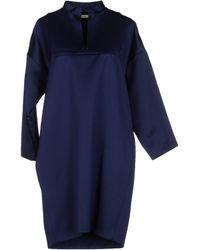 Celine Blue Short Dress - Lyst