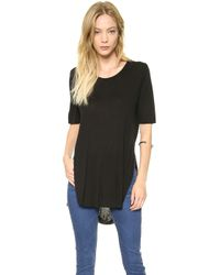 Cheap Monday Slow Tee  Grey Melange - Lyst