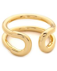 Giles & Brother - Mini Cortina Ring  Gold - Lyst