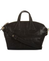 Givenchy Micro Nightingale Leather Bag Black - Lyst