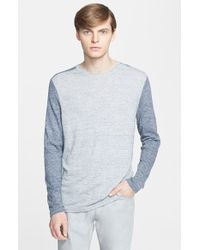 Theory 'Andrejs' Colorblock Sweater - Lyst