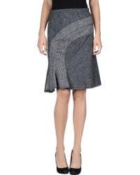 Anna Molinari - Knee Length Skirt - Lyst