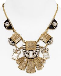 Kate Spade Imperial Tile Statement Necklace 18 - Lyst