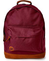 Mi-Pac Classic Backpack Burgundy - Lyst