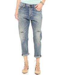 Citizens Of Humanity Premium Vintage Corey Crop Jeans Renegade - Lyst