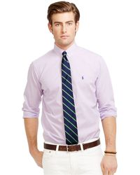Polo Ralph Lauren Glen Plaid Poplin Shirt - Lyst