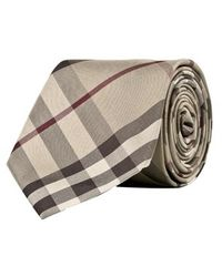 Burberry Check Tie - Lyst
