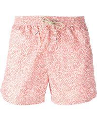 Burberry Brit Floral Print Swim Shorts - Lyst