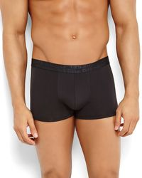 Diesel Solid No-show Trunks - Lyst
