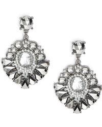 Catherine Stein | Gemstone Chandlier Earrings | Lyst