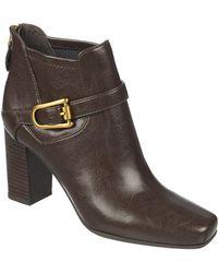 Franco Sarto Zengo High-Heel Boots brown - Lyst
