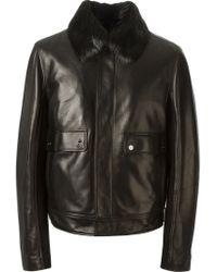 Ferragamo Lambskin Jacket - Lyst