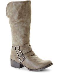 Madden Girl Stone Dakotaaa Boots - Lyst