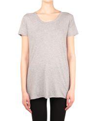 Enza Costa Cotton T-shirt - Lyst