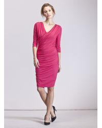 Baukjen Jersey Drape Dress - Lyst