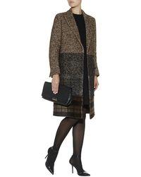 Max Mara Teramo Tweed Coat - Lyst