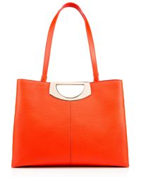 Christian Louboutin Passage Shopping Calf orange - Lyst