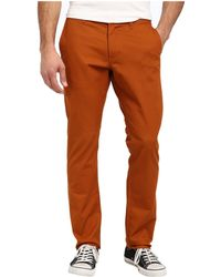 Obey Working Man Iii Chino Pant - Lyst